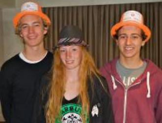 RE students - Hat Day